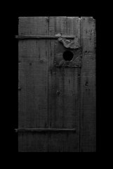 Door with Hole, 2017, photography, pigment print, 156 x 112 cm