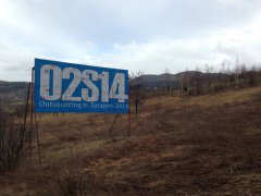 O2S14 | Outsourcing to Sarajevo 2014 | billboard