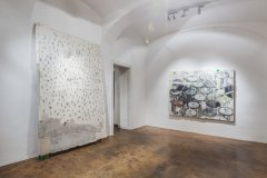 Viktors Svikis, Ausstellungsansicht NUTS AND BOLTS, Galerie Michaela Stock, Wien 2014