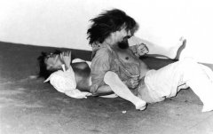 Vlasta Delimar, Male and Female, 1983, video documentation, performance with Željko Jerman