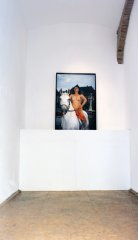 Lady Godiva, 2001, Lambda C-Print mounted, photo by Fredy Fijačko, edition: 8 + AP, 122 x 80 cm