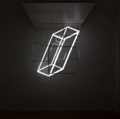 Perfect Angle, 2018, Light-Installation, 170 × 140 × 200 cm
