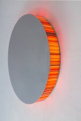 Interference, 2014, light object, diameter 100 cm, unique piece