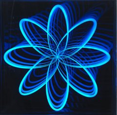 Organic Orbit, 2012, light sculpture, 60 x 60 cm, edition: 8 + 2AP