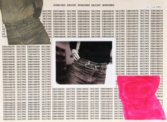 Barbara Hammer, Raging Hormones, 1979, collage, 20,2 x 27,8 cm