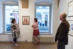 talk and guided tour with Helen Carey and Michaela Stock, Photo: Lea Sonderegger