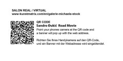 Sandro Đukić | Road Movie, Salon Virtual, QR Code