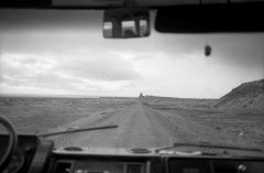 Road movie_01, 1992, b/w analogue photography, pigment print, 118 x 154 cm, edition: 5 + AP