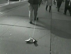 The Golden Shoes of Times Square, 2002, video, 4:24 min, edition: 1/5 + 2 AP