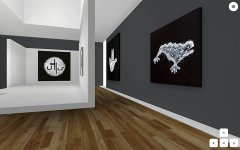 Mroneline | DNA of Architecture, the first room of Salon Virtual, exhibition view