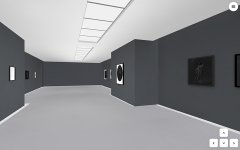 Mroneline | DNA of Architecture, the second room of Salon Virtual, exhibition view