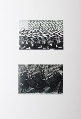The victory parade, 2015, collage / photpgraphy, drawing intervention, 42 x 29 cm