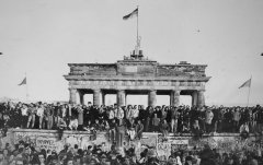 berlin wall, Brandenburger Tor 1989, photography
