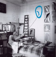Henri Matisse, 1st april 1950, photography, picture credits: Walter Carone