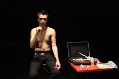 Selfeater / the thurst, 2009, performance, Močvara (The Swamp), Zagreb