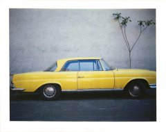 Mercedes Coupe, 2007, Polaroid 340 Automatic Land Camera, 8,5 x 10,8 cm