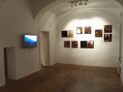 exhibition view, Views from Abroad, Galerie Michaela Stock, 2011
