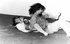 Male and Female, 1983, performance documentation, video, with Željko Jerman, edition: 5 + AP, duration: 4:45 min